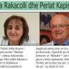 Mjekë që martohen me mjekë: Mira Rakacolli dhe Perlat Kapisyzi