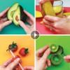 7 mënyra gjeniale për prerjen e frutave (Video)