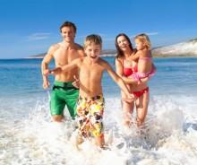 familje plazh femije