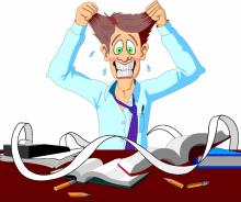 stres panik