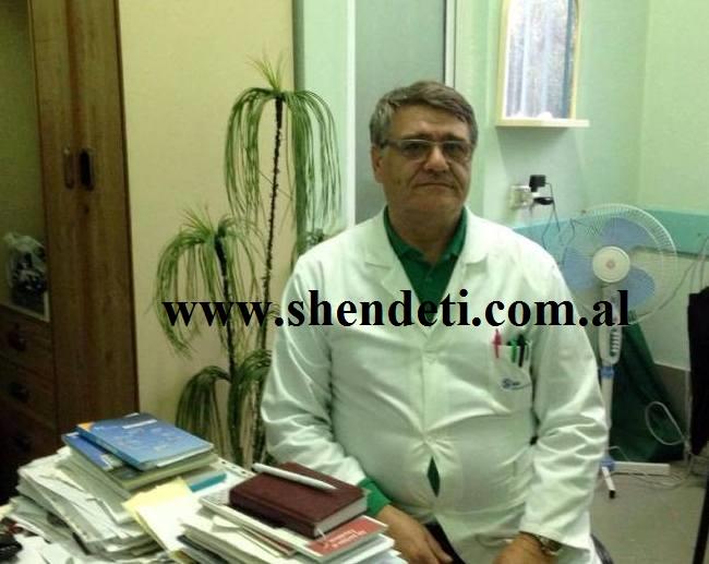 Dr. Hekuran Braho duke folur për gazetën Shëndet+
