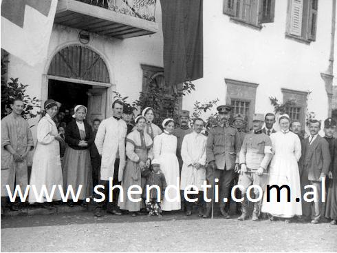 Spitali anglo-gjerman në Durrës, pranverë 1914
