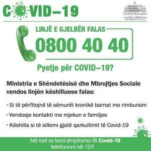 Linja e Gjelbër 0800 40 40